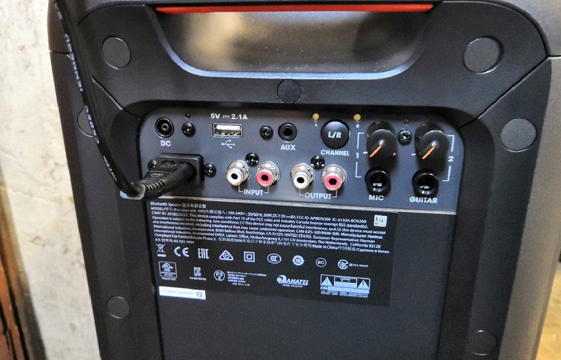 اسپیکر بلوتوثی جی بی ال PartyBox 300
