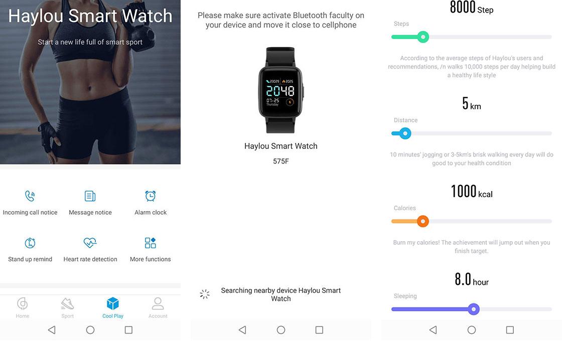 ساعت هوشمند Haylou LS01