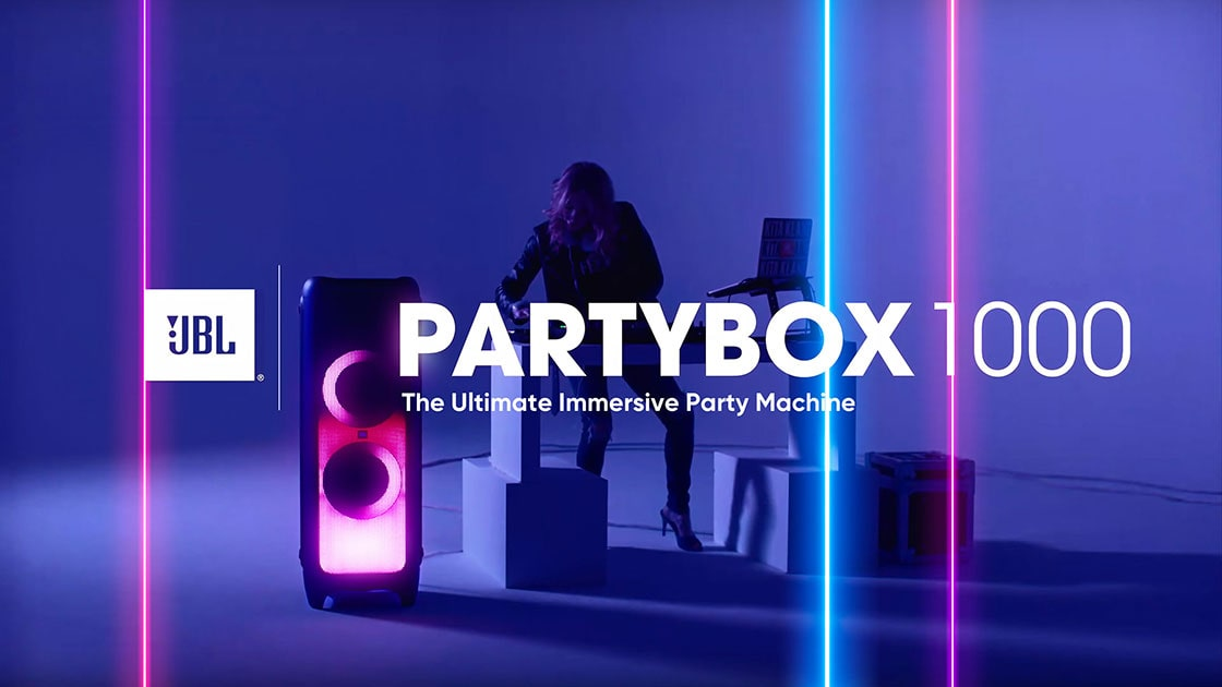 اسپیکر بلوتوثی جی بی ال PartyBox 1000