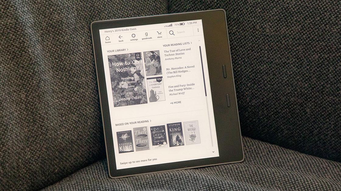 کتابخوان آمازون Kindle Oasis